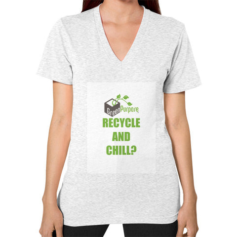 V-Neck (on woman) - My Green Purpose