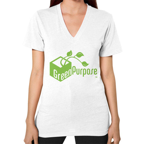 Green Purpose V-Neck: Female - My Green Purpose