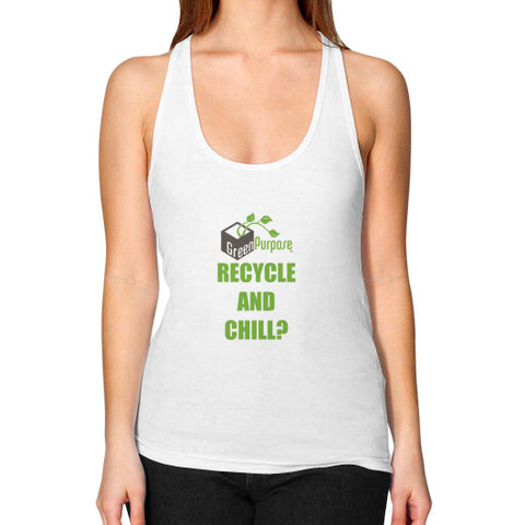 Women's Racerback Tank - My Green Purpose