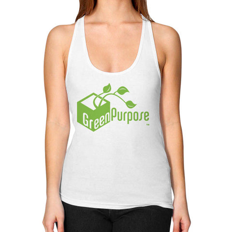 Green Purpose Women's Racerback Tank - My Green Purpose