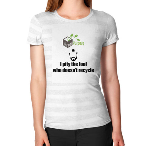 Women's T-Shirt - My Green Purpose