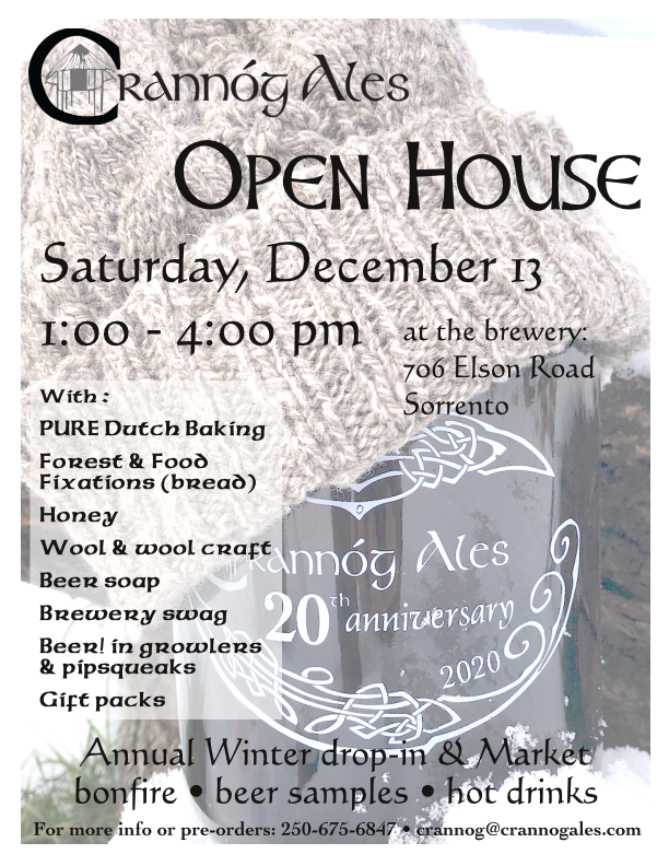 Open House: Local food, beer and crafts!