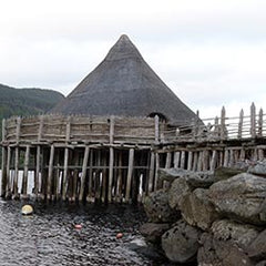 Crannog at Loc Ta