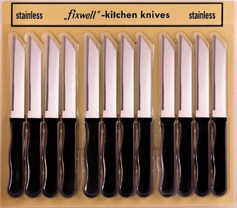 Fixwell Knives 12-pack Basic Black