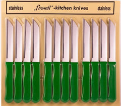 Fixwell Knives 12-pack Basic Green