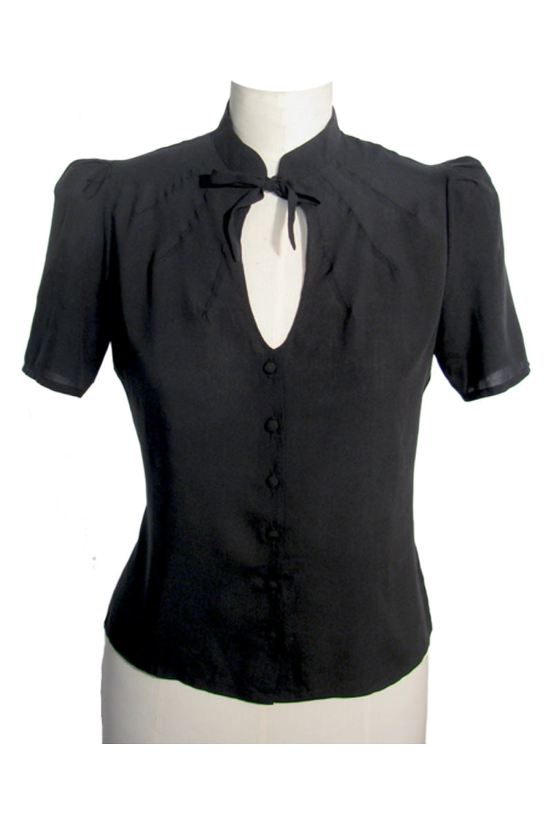 Berlin 40s Blouse Black