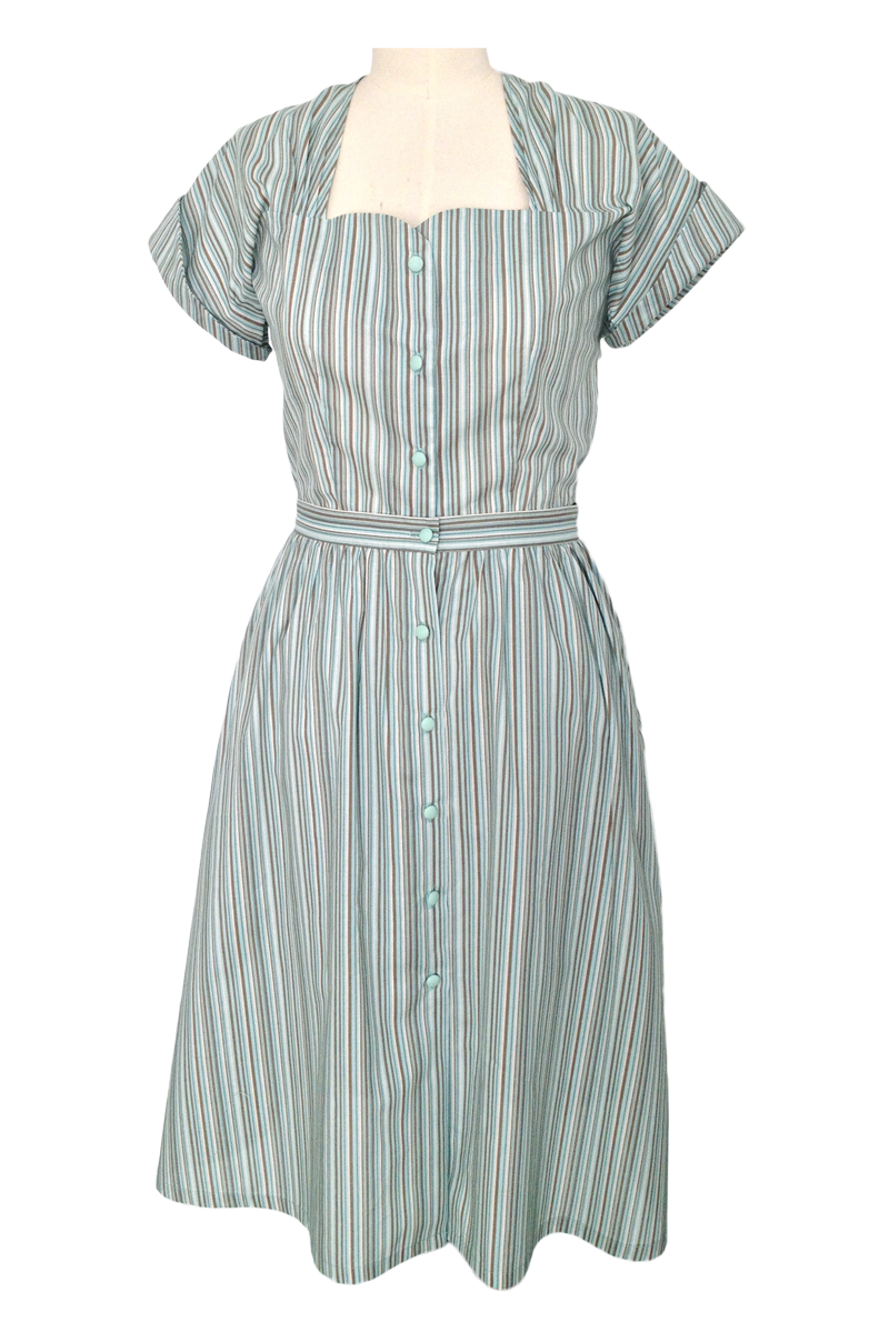 2a000a2bb1 1940s Playsuit Mint (Romper + Skirt) – Green of Grey