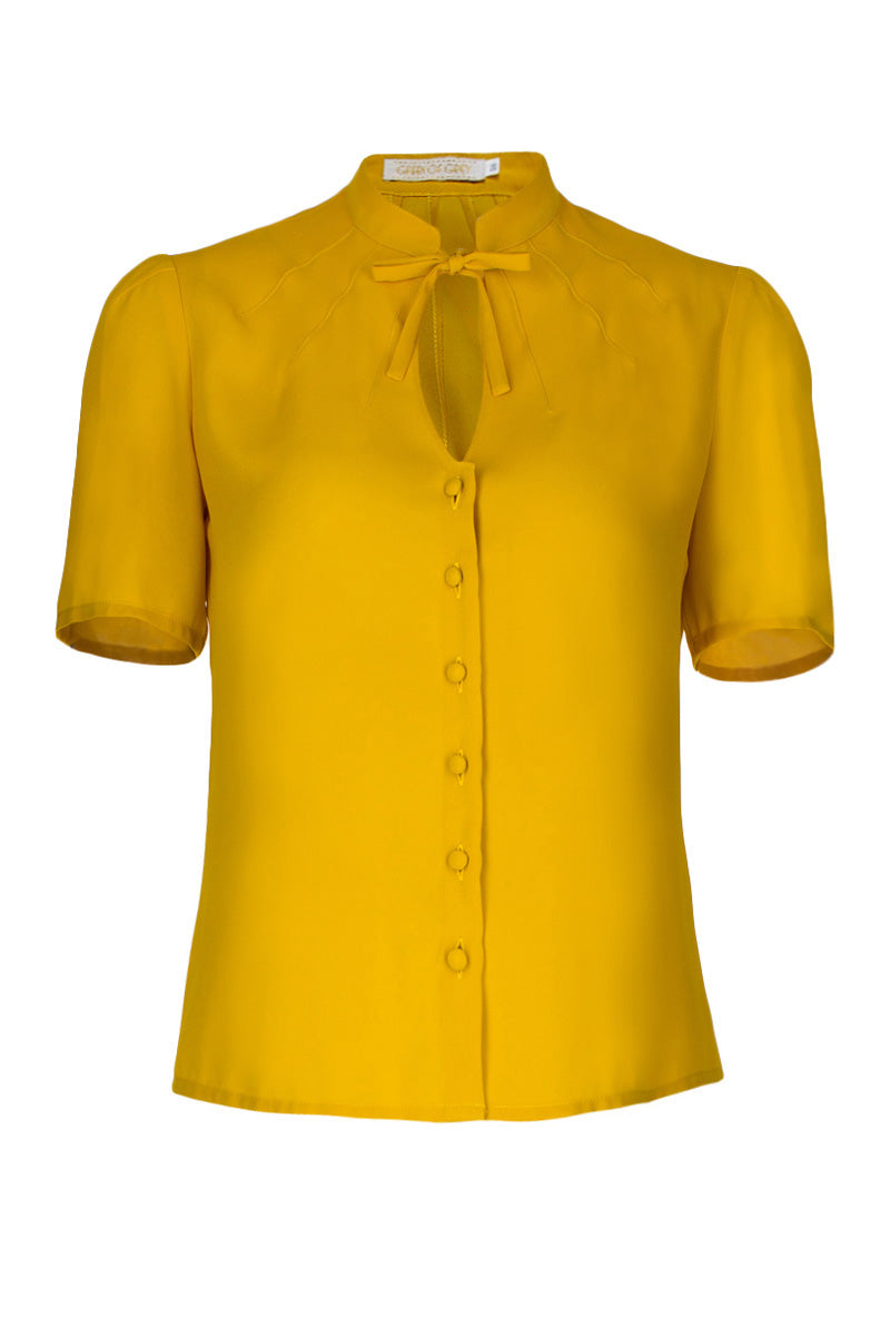 Berlin 40s Blouse Yellow