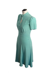 Berlín Flowy Dress Mint