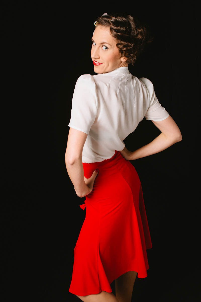 Lindy Skirt Red