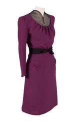 Marlene Dress Purple