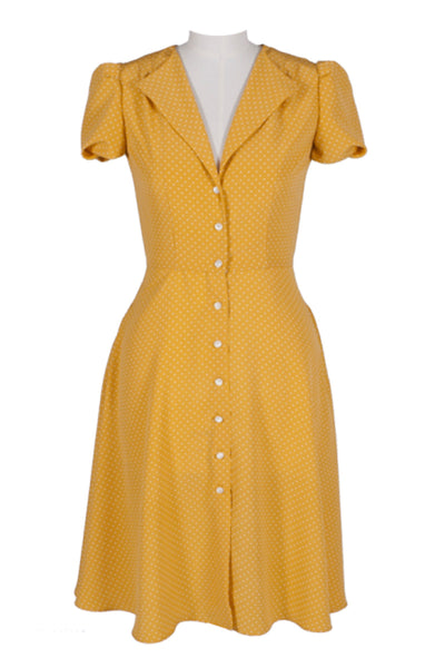 Mia Dress Polka Dot Yellow