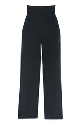 Sailor Pants Black