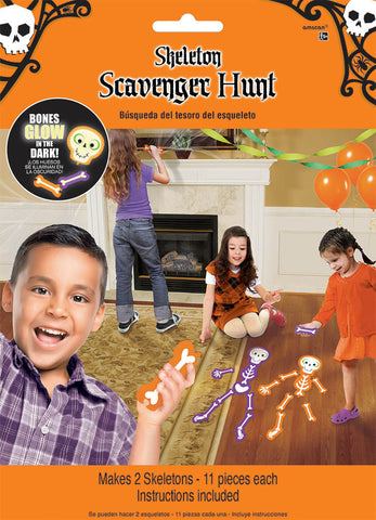 Game Skeleton Scavenger Hunt