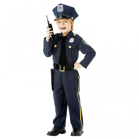 Costume Police Officer Child