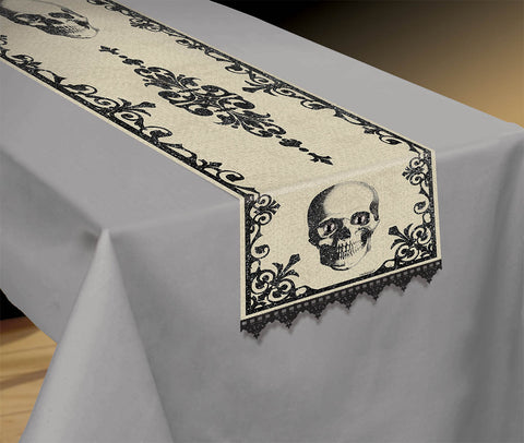 "Table Runner Boneyard 72""X14"""