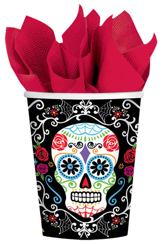 Cups 9 Oz Day of The Dead
