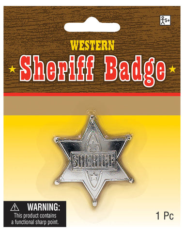 Badge Sheriff Silver
