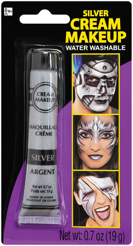 Makeup Cream Silver Metallic