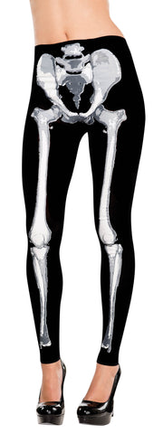 Tights Skeleton Footless STD