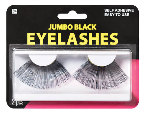 Eyelashes Jumbo Black