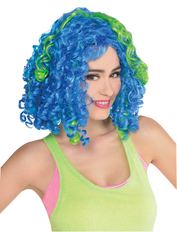 Wig Clown Ringlet Rainbow
