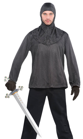 Chain Mall Tunic and Hood