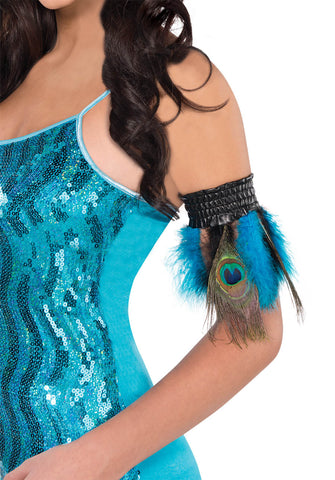 Cuffs Peacock Feather