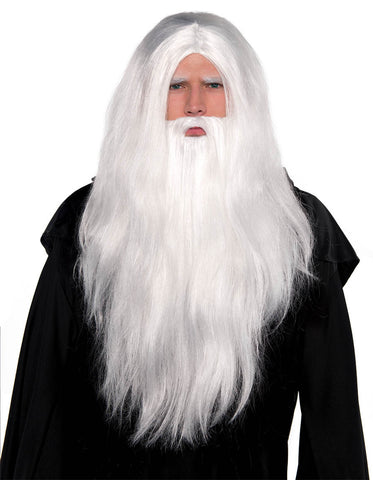 Sorcerer Wig and Beard