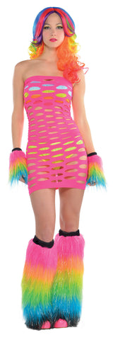 Electric Party Cut Out Dress