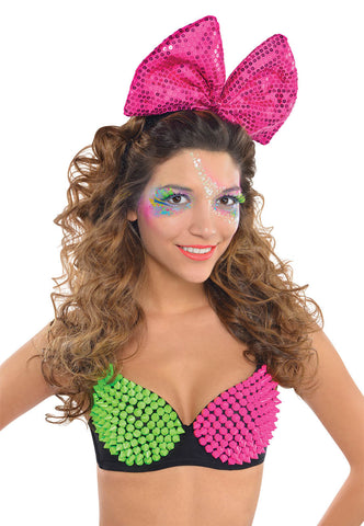 Electric Party Lite Up Bow