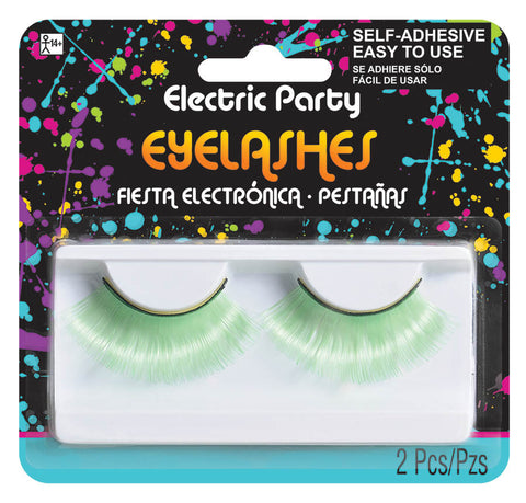 Eyelashes Neon Green
