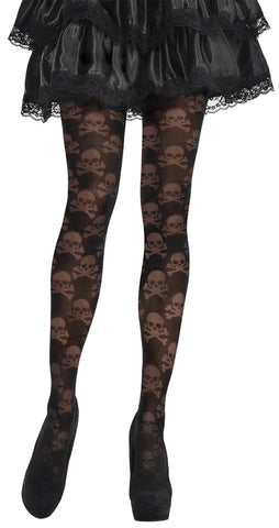 Tights Skull and Cross Bone STD