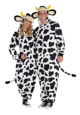 Costume Cow Zipster Fits 6'3""