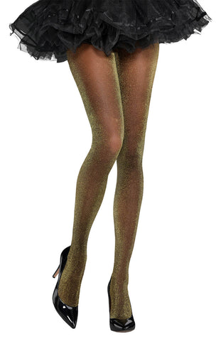 Tights Shimmer Black STD