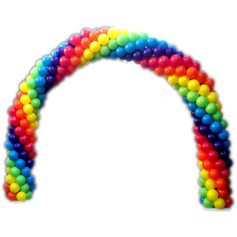 "11"" 5PK Balloon Arch /FT"