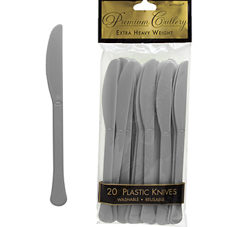 Knife 20ct Silver