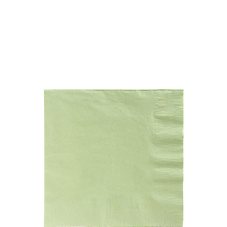 Napkin Bev Leaf Green