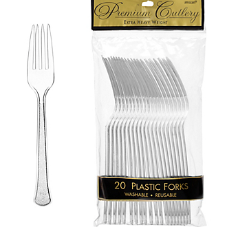 Fork 20ct Clear