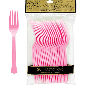 Fork 20ct New Pink