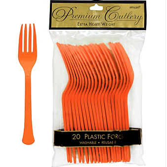 Fork 20ct Orange Peel