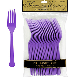 Fork 20ct Purple