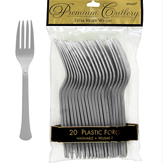 Fork 20ct Silver