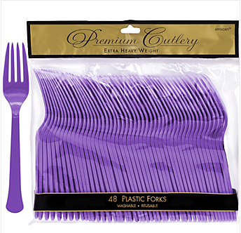 Fork 48ct Purple