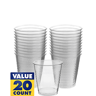 Cup Plastic 12oz Clear