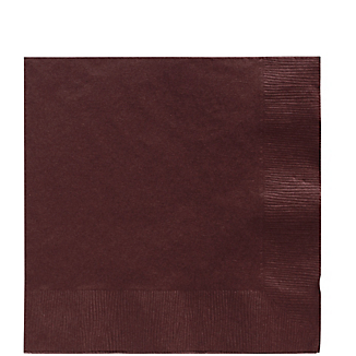 Napkin Lunch Chocolate Brown
