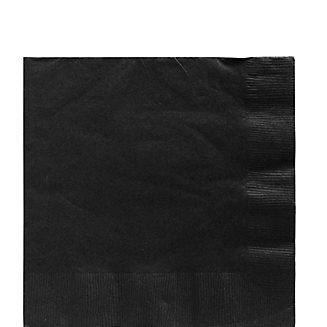 Napkin Lunch Jet Black