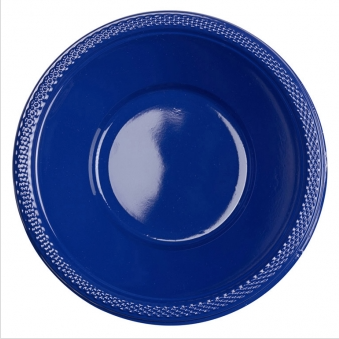 Bowl Plastic Navy Flag