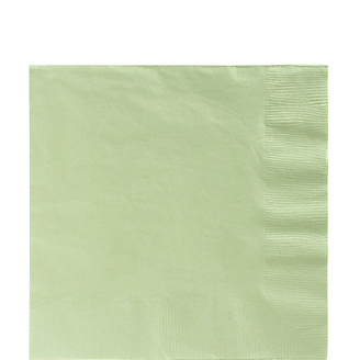 Napkin Lunch Leaf Green