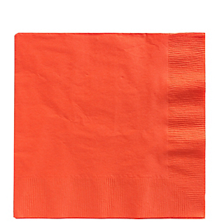 Napkin Lunch Orange Peel